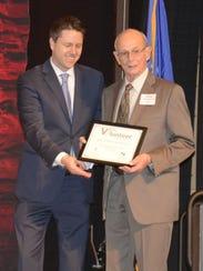 Michael Schwartz-Oscar (left), executive director for