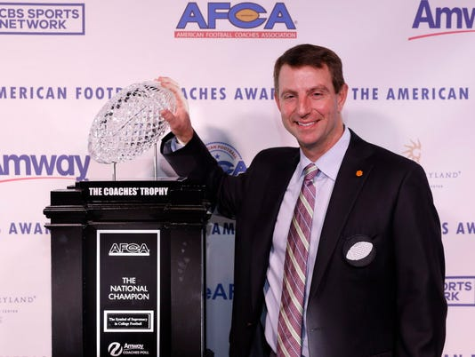 Football S Best Gather For American Football Coaches Association