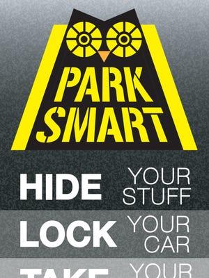 """Park Smart"" flyer."