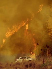 A new study suggests smoke exposure from wildfires can affect the heart, particularly in older people.