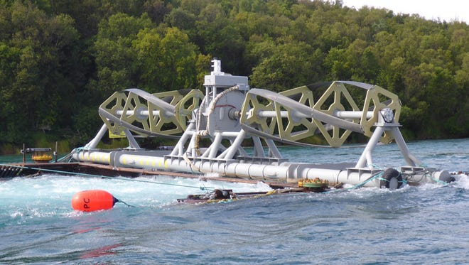 Ocean Renewable Power Co., based in Maine, is tapping tidal energy on an Alaskan river to provide electricity to a remote village that struggles with high energy costs.