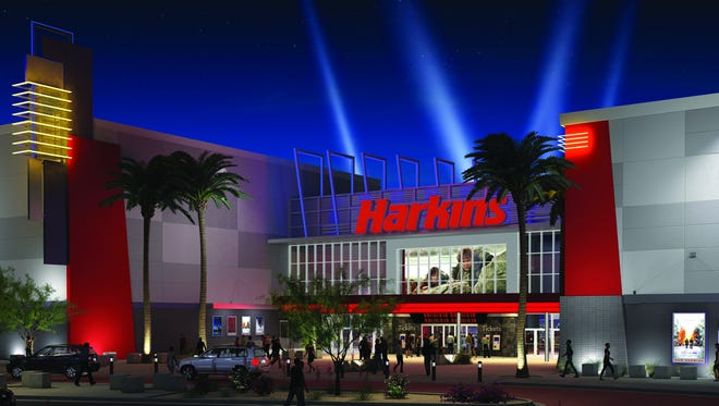 First West Valley Harkins theater in Goodyear's Estrella Falls.
