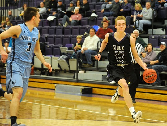 USF's Drew Guebert was an All-NSIC honoree last year