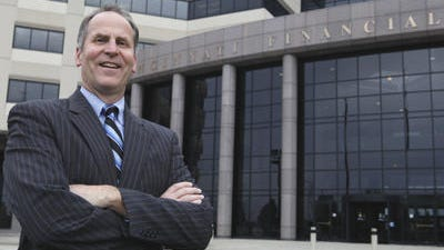 Steven Johnston, chief executive officer and president of the Cincinnati Financial Corp.