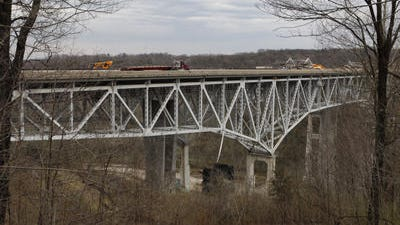 Lane closures will take place in the southbound lanes of Interstate 71 on the Jeremiah Morrow Bridge Monday from 8 a.m. to 1 p.m.