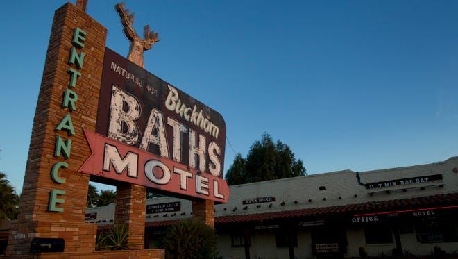 Buckhorn Baths, in Mesa, soothed generations of travelers and Cactus League players with its mineral baths but is now listed as one of the most endangered historic sites in America.