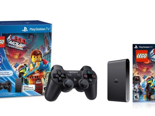 A PlayStation TV bundle.