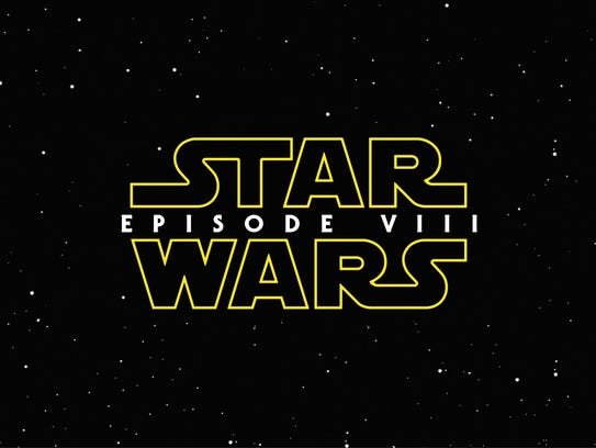 "An advance logo for ""Star Wars: Episode VIII."""