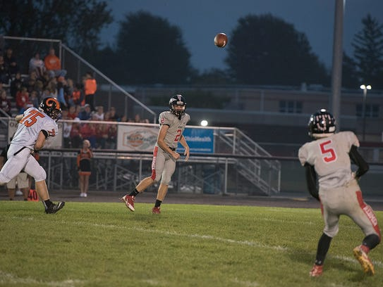 Ben Seibert can reach a milestone this season with a strong passing performance against Crestline.