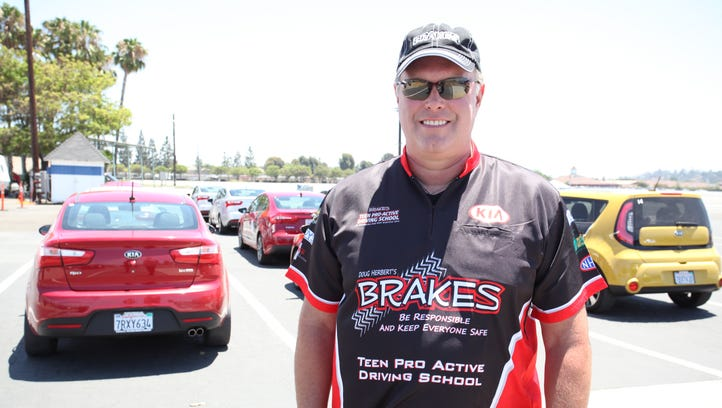 Former champion drag racer Doug Herbert was inspired to create a defensive driving program after his sons died in a traffic crash in 2008.