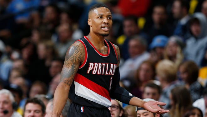 Damian Lillard was left out of the 2016 NBA All-Star Game.