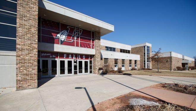 File photo - Menomonee Falls High School on Sunday, Feb. 25, 2018.