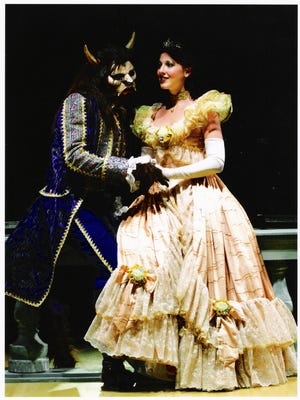 """Derby Dinner Playhouse presents the musical """"Beauty and the Beast."""""""