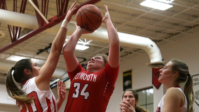 Plymouth's Emily Blanton returns from ACL surgery to lead the charge for the Lady Big Red.