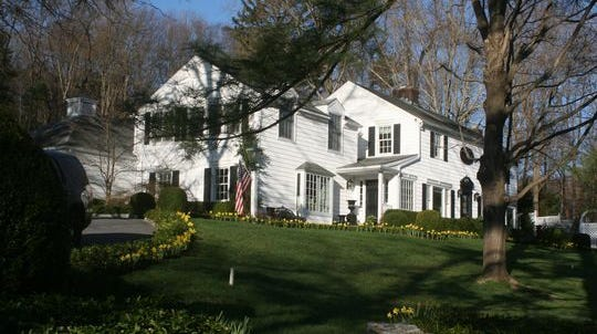 The home shared by Gov. Andrew Cuomo and Sandra Lee on Bittersweet Lane in Mount Kisco.