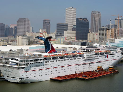 Carnival Triumph Carnival Cruise Line Ship To Sail Out Of