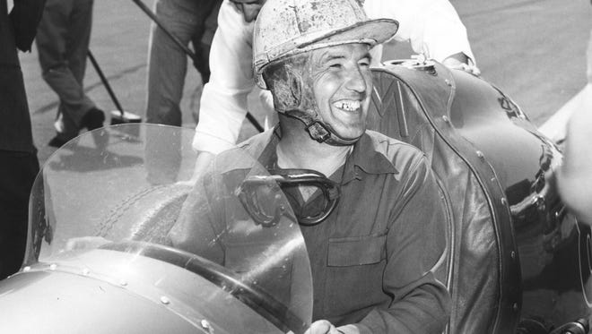 Lee Wallard in 1950.