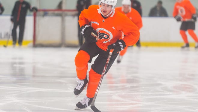 Jay O'Brien is a freshman at Providence College this season and one of 10 Flyers prospects playing in the NCAA.