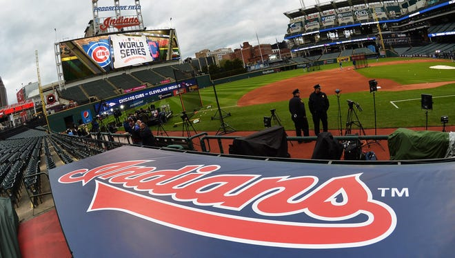 Progressive Field, as it's now known, is just a long home run away from Quicken Loans Arena.