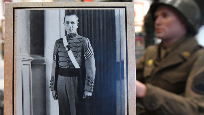 A family photo shows 1st Lt. William Warner Jr., who was killed in Germany during World War II. Warner was finally honored for his courage 74 years later, on Jan. 16, 2019, when his daughter Jeanne Hall, of Melbourne Beach was presented his Silver Star, Purple Heart, and other medals at a ceremony at the Brevard Veterans Memorial Center.