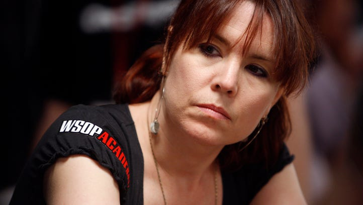 Poker star Annie Duke.