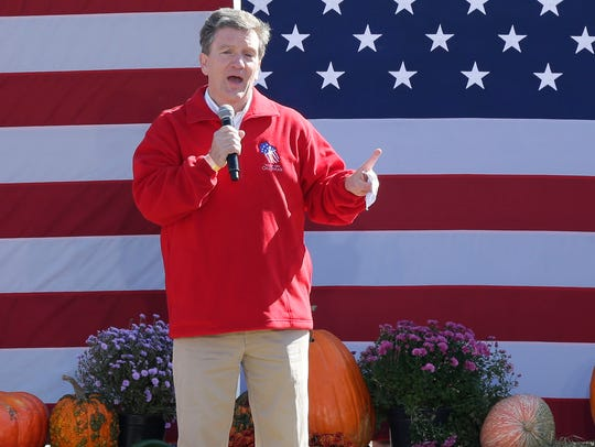 Brad Courtney, chairman of the Republican Party of