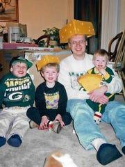 Nathan, Joel, Michael and Matthew Screnock.