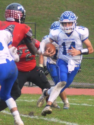 Hawthorne senior quarterback Nick Foschini was named to the All-Passaic County football second team.