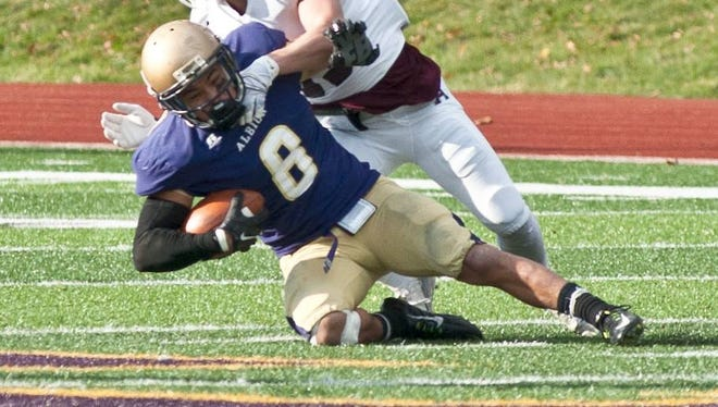 Defensive back Anthony Waite returns to lead the Albion College secondary in 2016.