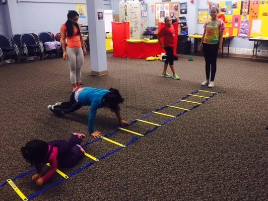 Children and teen club members were invited to learn