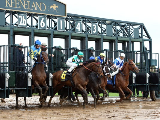 First Race of Meet | Scenics | Keeneland Race Course | 040315