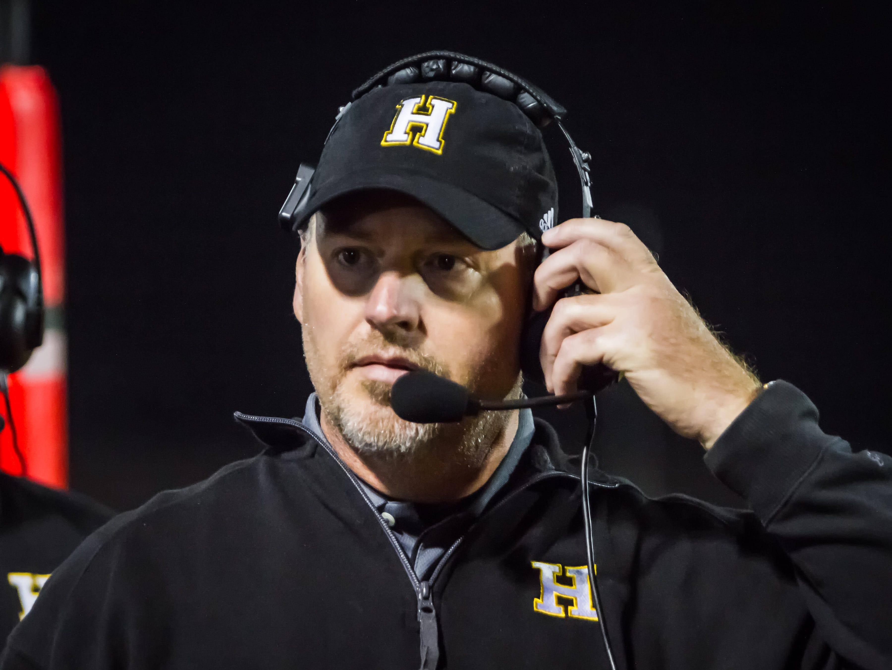 Hendersonville coach Bruce Hatfield.