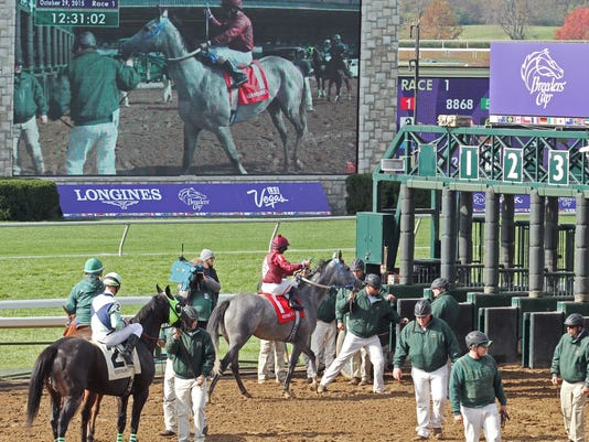 Scenics - First Race - Prelude to the Cup - Breeders' Cup - Keen