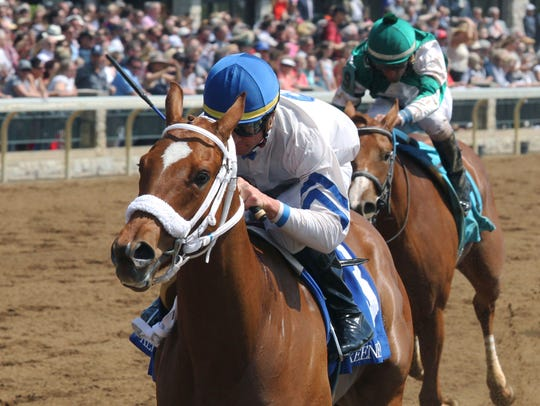 Waki Patriot picked up her first win during Keeneland's