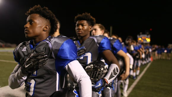 The Sterlington Panthers battle the Capitol Lions at
