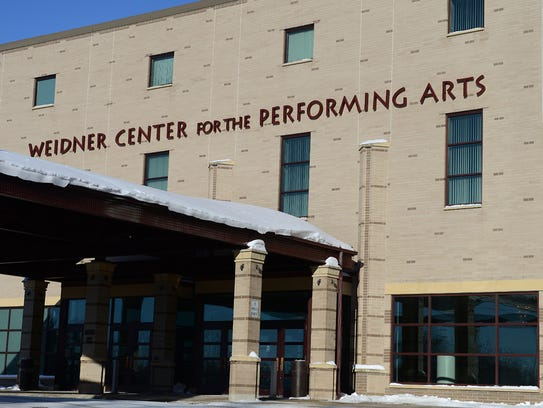 The Weidner Center for the Performing Arts on the UW-Green