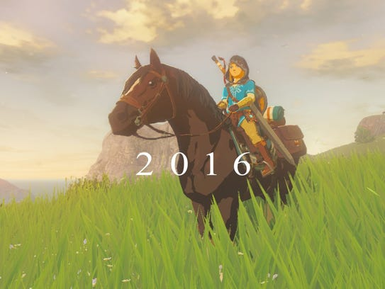 A scene from the next 'The Legend of Zelda' video game