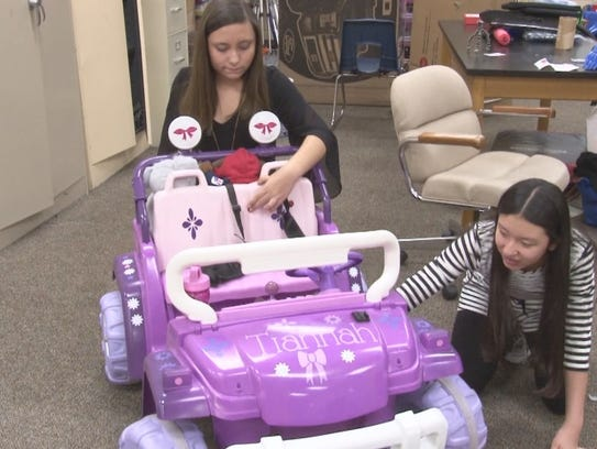 Students Create New Way for Special Needs Child to
