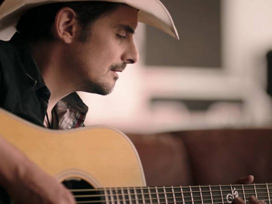 Brad Paisley in a Nationwide ad