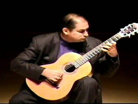 Hear Gerardo Perez Capdevila play at 3 p.m. in the