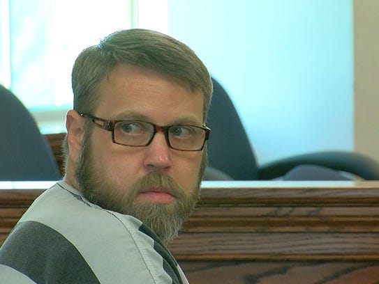 David Dooley sits in court Thursday