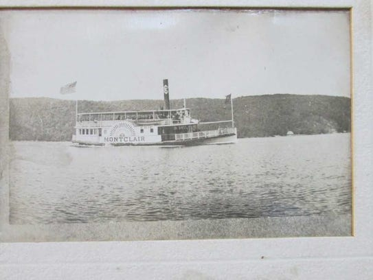 The Montclair was one of several steamboats on Greenwood