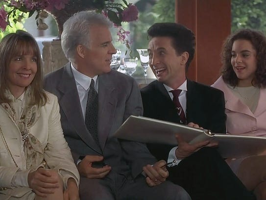Diane Keaton (from left), Steve Martin, Martin Short