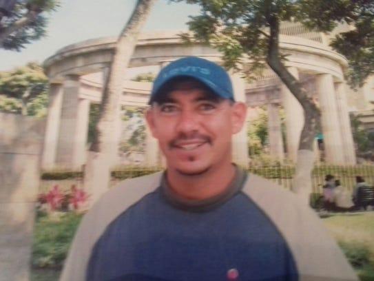 Alberto Apodaca Machado, 41, died after crossing into