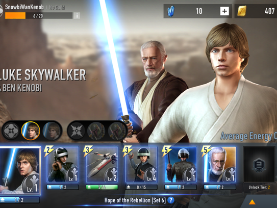 Star Wars Force Arena is, at its core, a tower defense