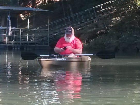 Kayak paddler Donald Wright, 64, lost his life Saturday