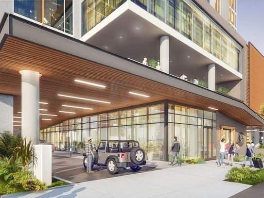 Margaritaville nashville hotel renderings feature tropical for Margaritaville hotel decor