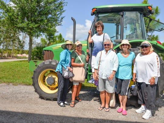 Mary Brubaker, left, Toni Rowe, Carol Russo, Joan Reichardt,