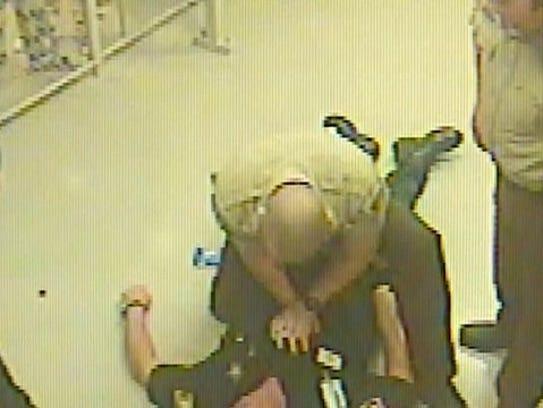 Deputies began CPR on the fallen jailer until paramedics