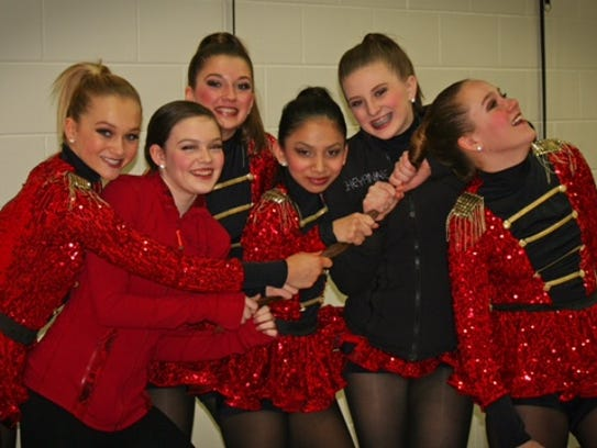 Pictured are Elite Dance Centre members at the Dreamstar
